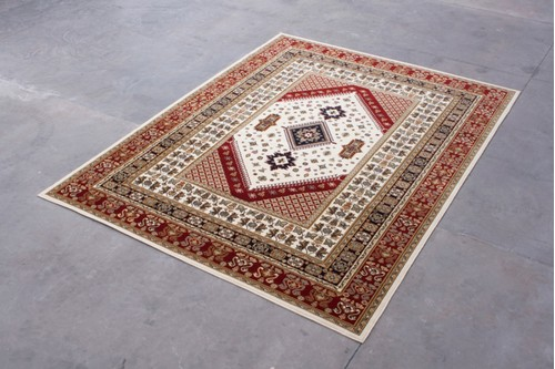 100% Wool Multi Mohatta Woven Rug ZMO029744 Machine Woven in Moldova with a 10mm pile