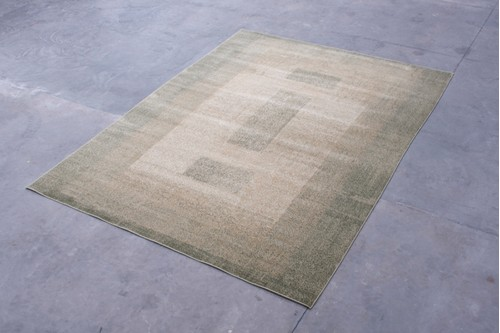 100% Polypropylene Green Kaydon Woven Rug Design CMP030FAU Machine Woven in China with a 12mm pile