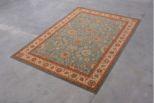100% Wool Blue Nourison Living Treasures Rug Design NLT029005 Machine Woven in China with a 10mm pile