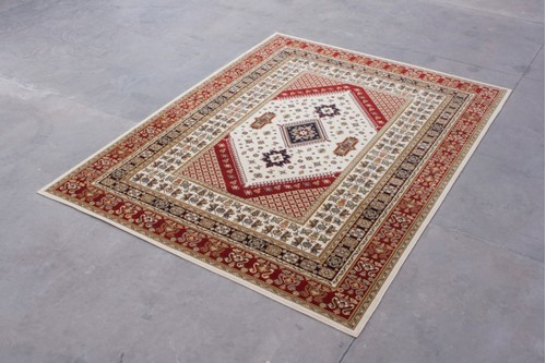 100% Wool Multi Mohatta Woven Rug ZMO029746 Machine Woven in Moldova with a 10mm pile