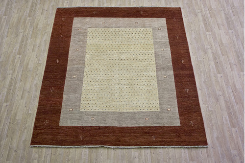 100% Wool Multi Afghan Modern Design AGM025000 301 x 242 Handknotted in Afghanistan with a 5mm pile