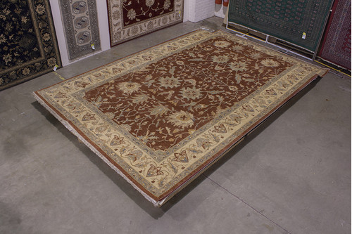 100% Wool Rose Afghan Veg Dye Rug AVE031095 499x297 Handknotted in Afghanistan with a 5mm pile