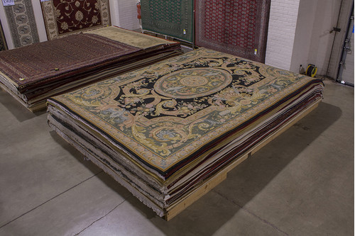 100% Wool Multi Chinese Savonnerie Rug CSA030113 428x309 Handknotted in China with a 25mm pile