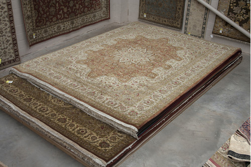 100% Wool Multi Fine Indo Persian IFM033053 460x369 Handknotted in India with a 20mm pile