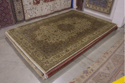100% Wool Multi Fine Indo Meshed Rug IFM035075 536x367 Handknotted in India with a 20mm pile