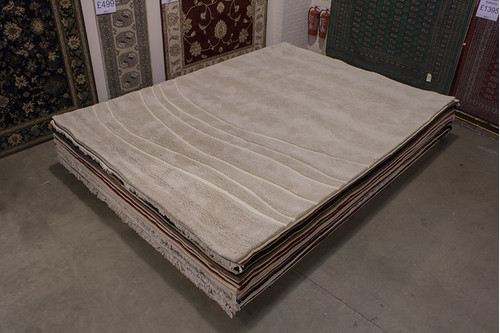 100% Wool Cream Laura Jade Rug LJB030204 410x302 Handknotted in India with a 22mm pile