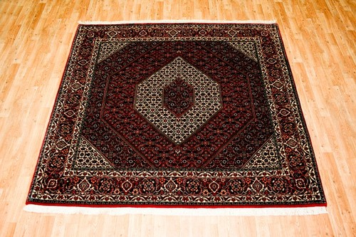100% Wool Multi Persian Bidjar Carpet PBD096FIN 210 x 205 Handknotted in Iran with a 16mm pile