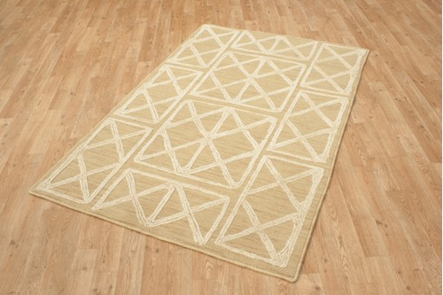 100% Polyester Gold Mandarin Designer Rug Design CMA005 Handmade in China with a 10mm pile