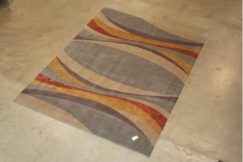 85% Wool/ 15% Silk Multi Very Fine Tibetan Carpet CTN029WAS Tibet in Handknotted with a 15mm pile