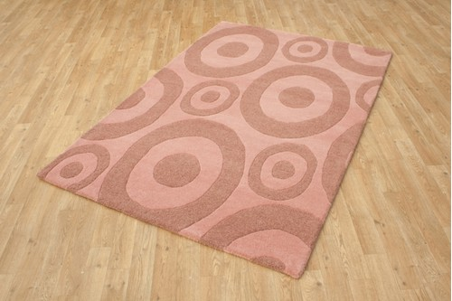 100% Wool Multi Ella Claire Vibrance Indian Rug ECC016 Handmade in India with a 18mm pile