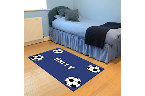 100% Wool Multi Personalised Rugs - Handmade in India with a 15mm pile