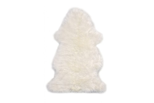 100% Wool Cream Australian Single Natural Sheepskin  in Australia with a pile Image 2