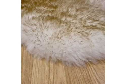 100% Wool Brown Australian Double Natural Dusk Sheepskin  in Australia with a pile