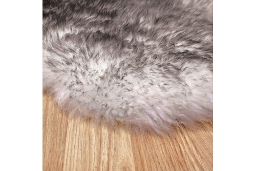 100% Wool Grey Australian Single Natural Twighlight Sheepskin  in Australia with a pile