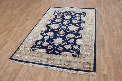 Indian Jaipur Palace Rug handmade from a mix of 80% wool and 20% viscose. 18mm pile HJS088