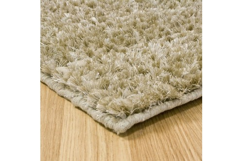 50% Wool / 30% Polyester / 20% Cotton Beige Nourison Fantasia Rug Design Handmade in India with a 25mm pile