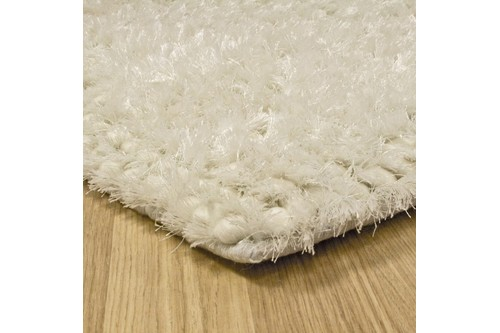 50% Wool / 30% Polyester / 20% Cotton Cream Nourison Fantasia Rug Design Handmade in India with a 25mm pile