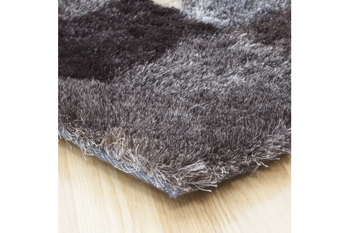 100% Polyester Multi Arte Espina Shaggy Rug Design Handmade in China with a 30mm pile