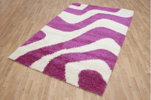 100% Polypropylene Multi Shaggy Machine Made Rug Machine Made in Belgium with a 20mm pile