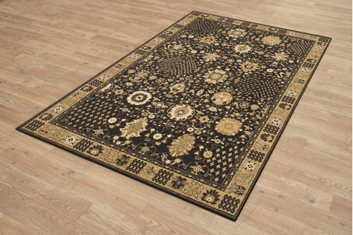 100% Polypropylene Brown Empire Woven Rug Machine Woven in Israel with a 10mm pile