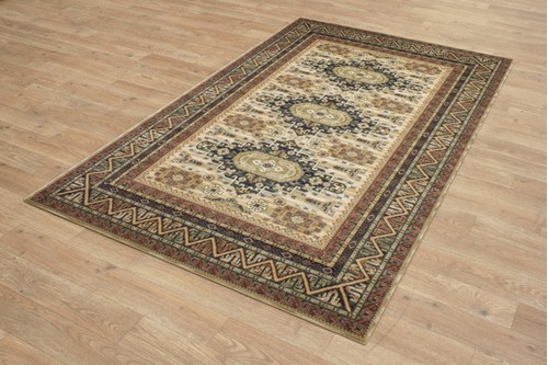 Mossoul Woven Rug ZMO759 100% Wool Machine Woven 10mm